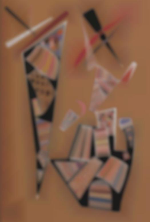 Wassily Kandinsky-Ohne Titel (671) (Untitled (671))-1940