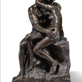 Auguste Rodin-Le Baiser, Reduction No. 3-1886