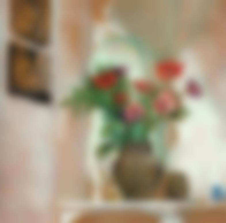 Edouard Vuillard-Anemones-1907