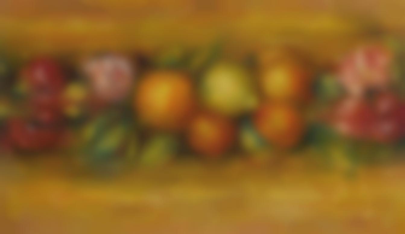Pierre-Auguste Renoir-Panneau De Fruits Et Fleurs-1915