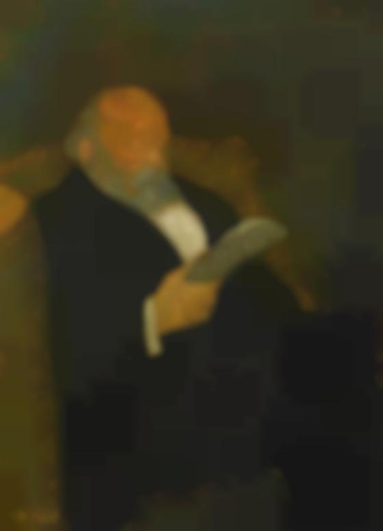 Edouard Vuillard-Le Pere De Ker-Xavier Roussel-1890