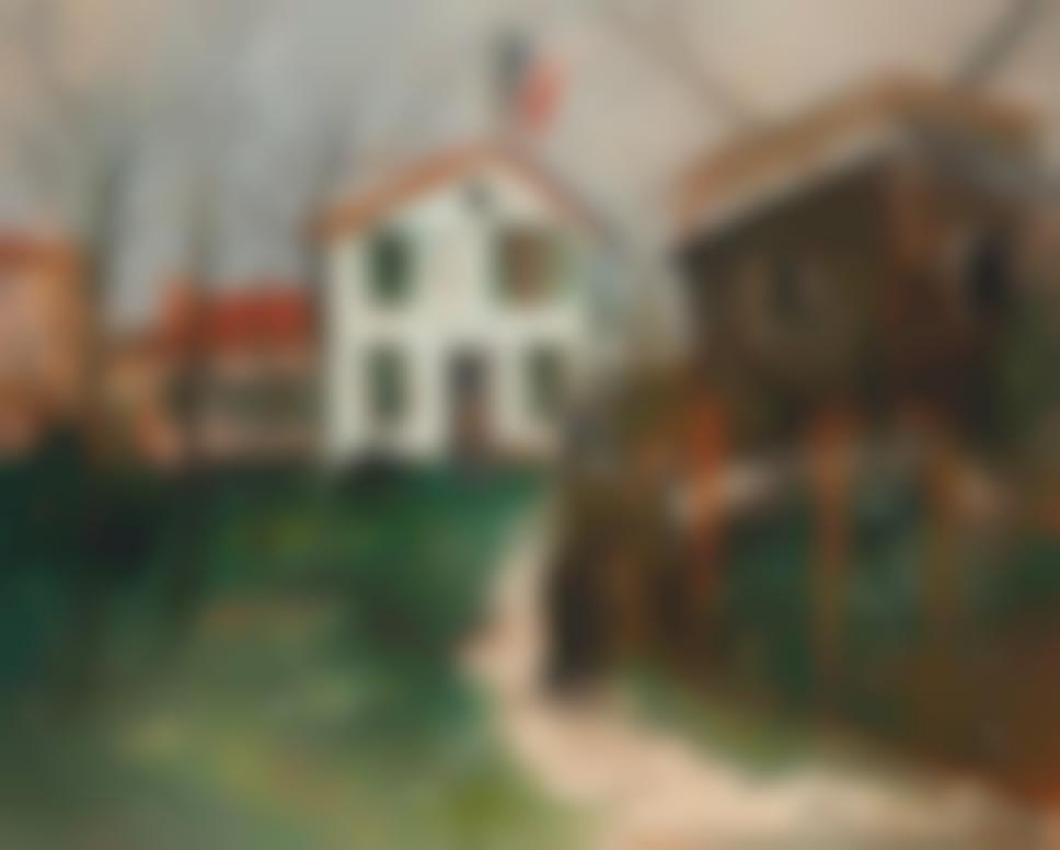 Maurice Utrillo-Chemin De Moulin, Sannois (Val Doise)-1922