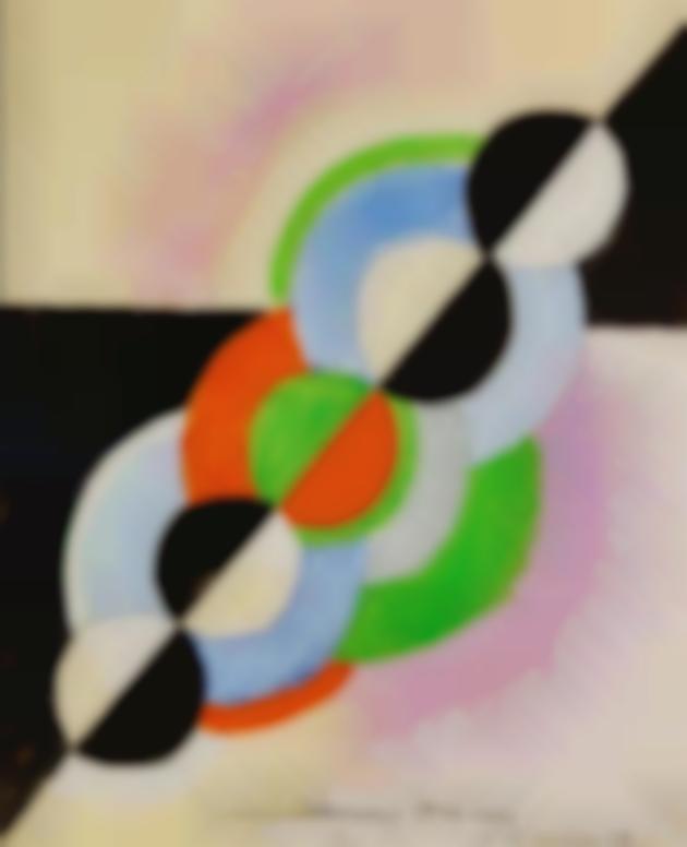 Sonia Delaunay-Rythme Colore-1942