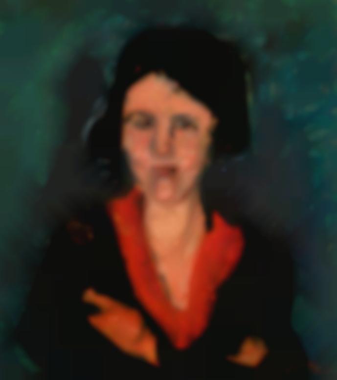 Chaim Soutine-La Femme Au Col Rouge-1929