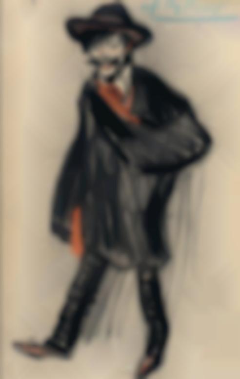 Pablo Picasso-Le Poete Alberto Lozano-1901