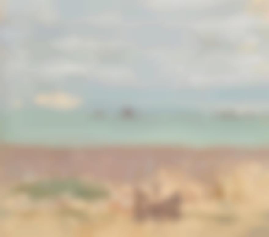 Pierre Bonnard-Bord De La Mer, Enfants A La Barriere-1906