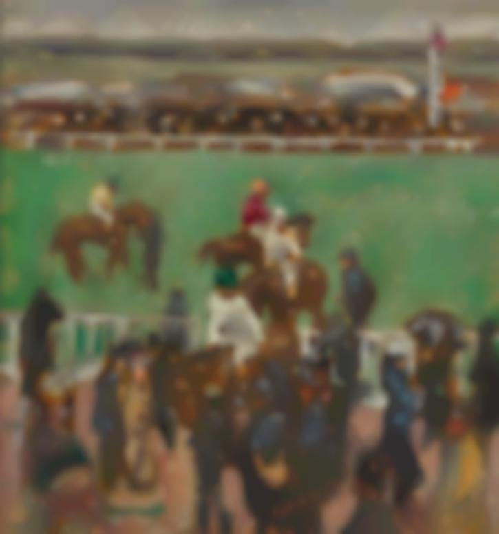 Pierre Bonnard-Aux Courses (Longchamp)-1894
