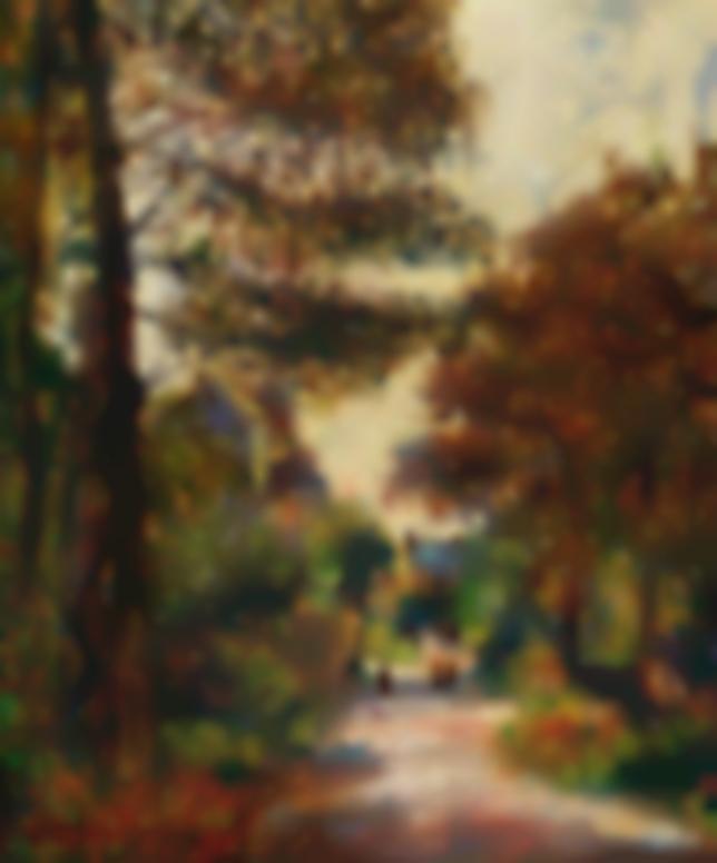 Gustave Loiseau-Lentree Dun Village En Automne-1908