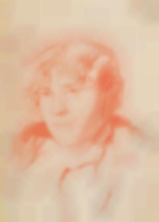 Egon Schiele-Frauenportrat (Portrait Of A Woman)-1907