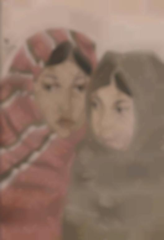 Tsuguharu Foujita-Mere Et Enfant, A Mexico-1933