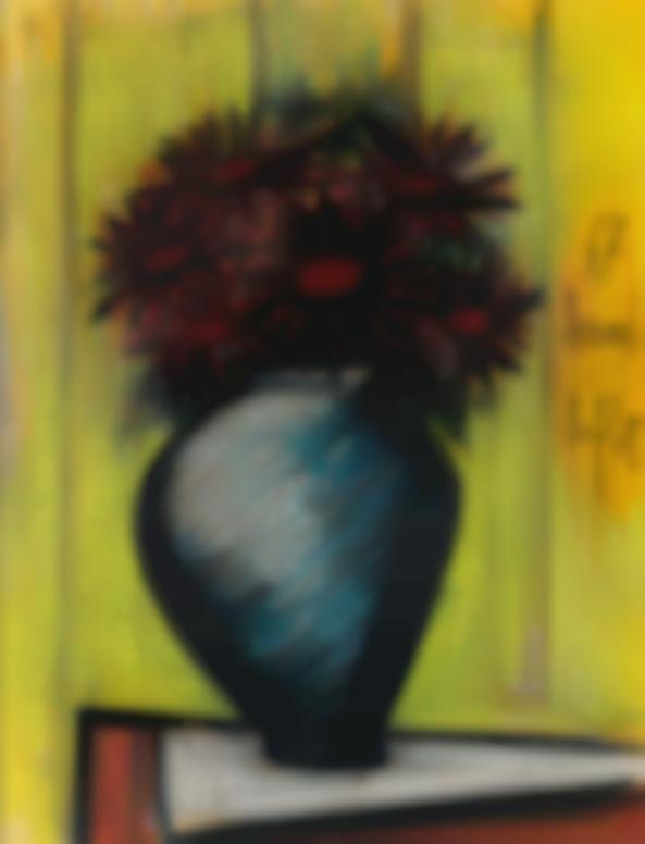 Bernard Buffet-Fleurs Dans Une Potiche-1967
