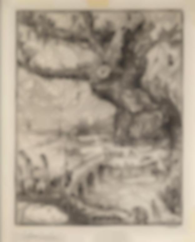 Alfred Kubin-Der Lebensbaum (The Tree Of Life)-1911
