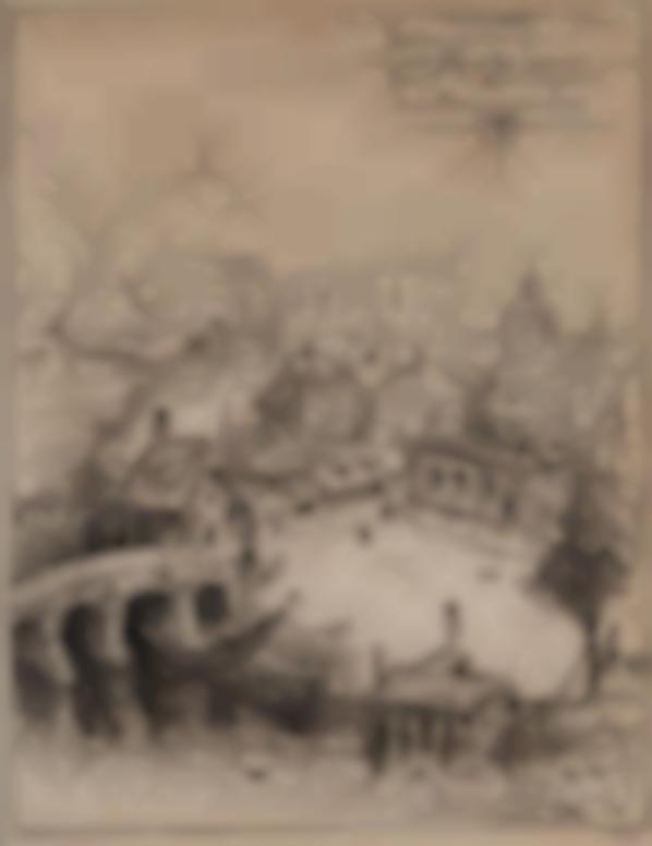 Alfred Kubin-Authentische Ansicht Von Perle, Der Haupt- Und Residenzstadt Des Traumreichs (Authentic View Of Perle, The Capital And Residenzstadt Of The Dreamland)-1909