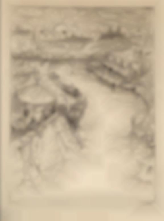 Alfred Kubin-Kanalmundung II (Canal Terminus II)-1911