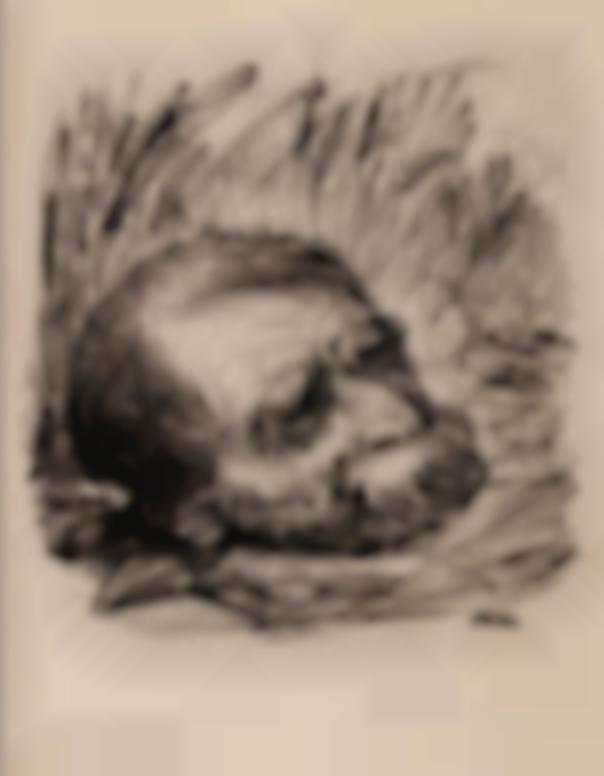 Alfred Kubin-Der Verlorene Kopf (The Lost Head)-1935