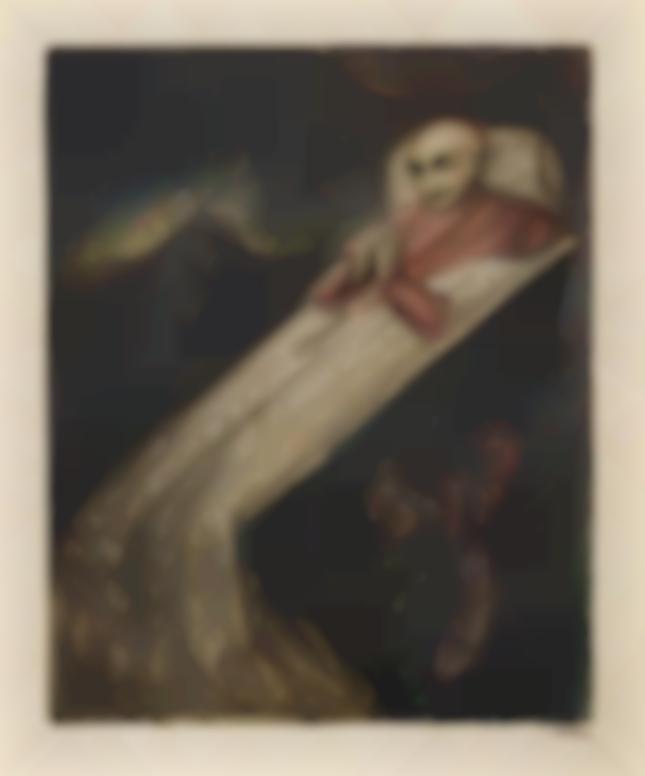 Alfred Kubin-Der Kardinal (The Cardinal)-1913
