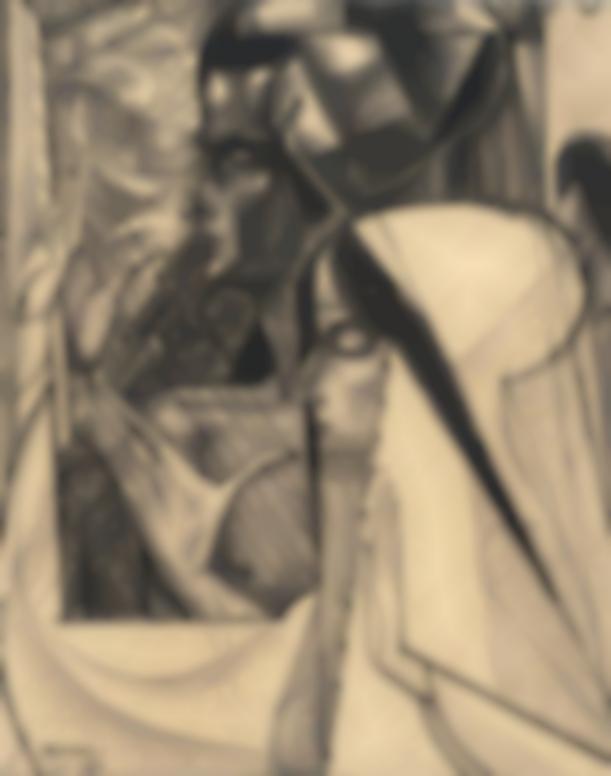Jan Toorop-Meditatie (Meditation)-1921