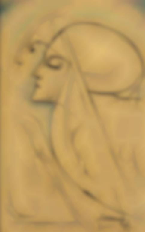Jan Toorop-Zwei Nonnen (Two Nuns)-1921