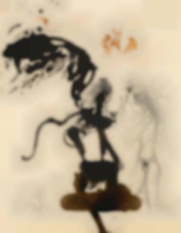 Salvador Dali-Oedipe Et Le Sphinx-1964