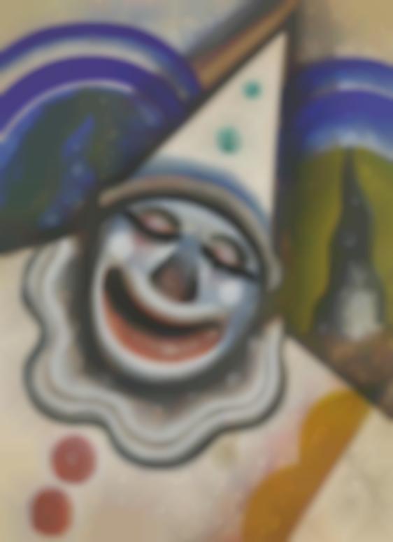 Hugo Scheiber-Clowns Face-1935