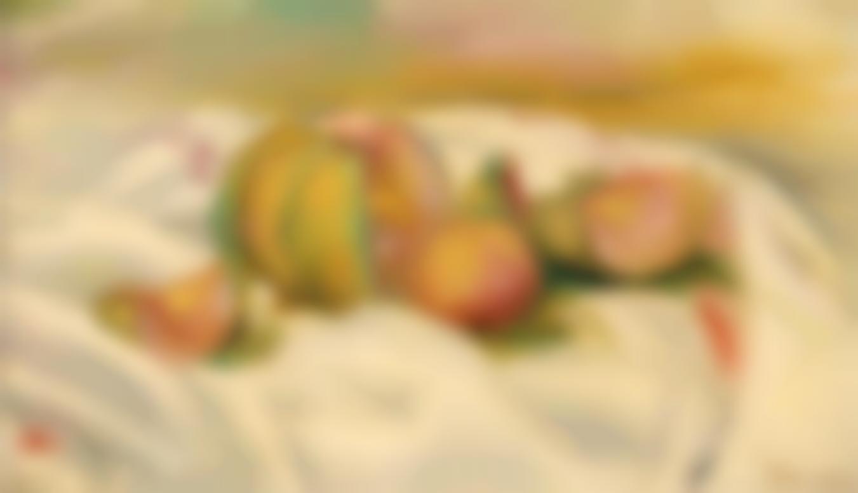 Pierre-Auguste Renoir-Nature Morte Au Melon-
