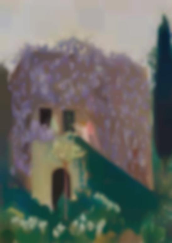 Maurice Denis-Annonciation Aux Glycines, Orvieto (Esquisse)-1931