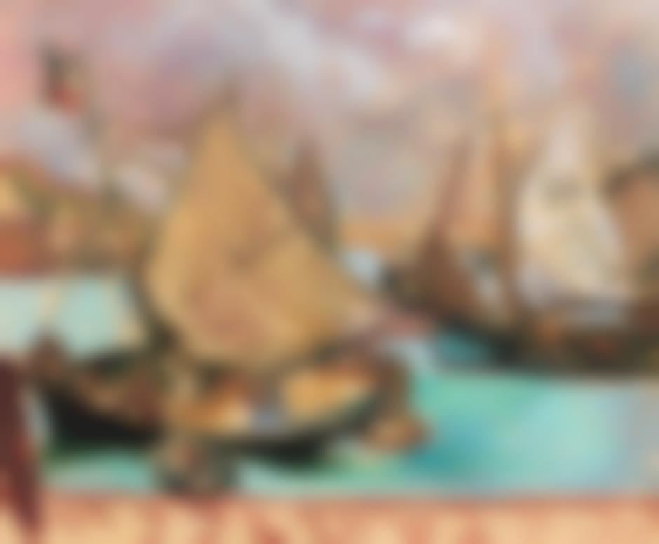 Louis Valtat-Barques A Port En Bessin-1907