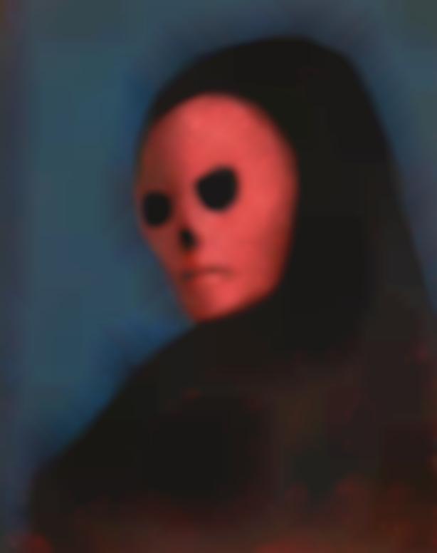 Leonor Fini-Le Masque De La Mort Rouge-1987