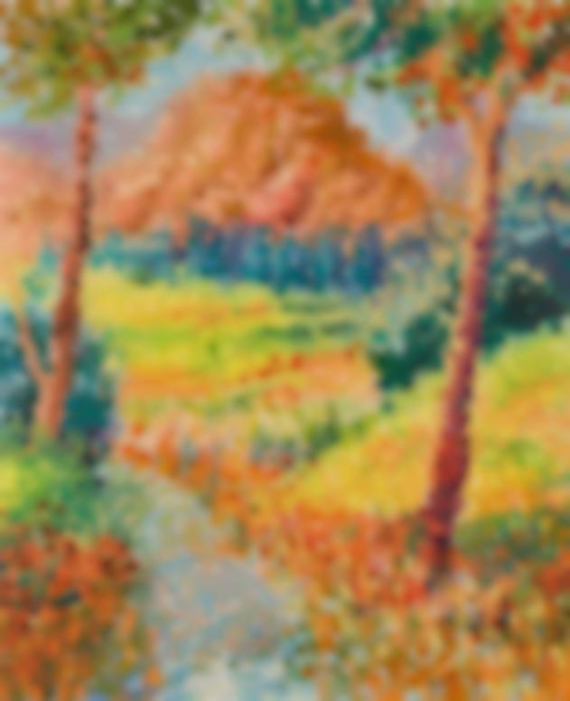 Serge Mendjisky-La Sainte Victoire-1972