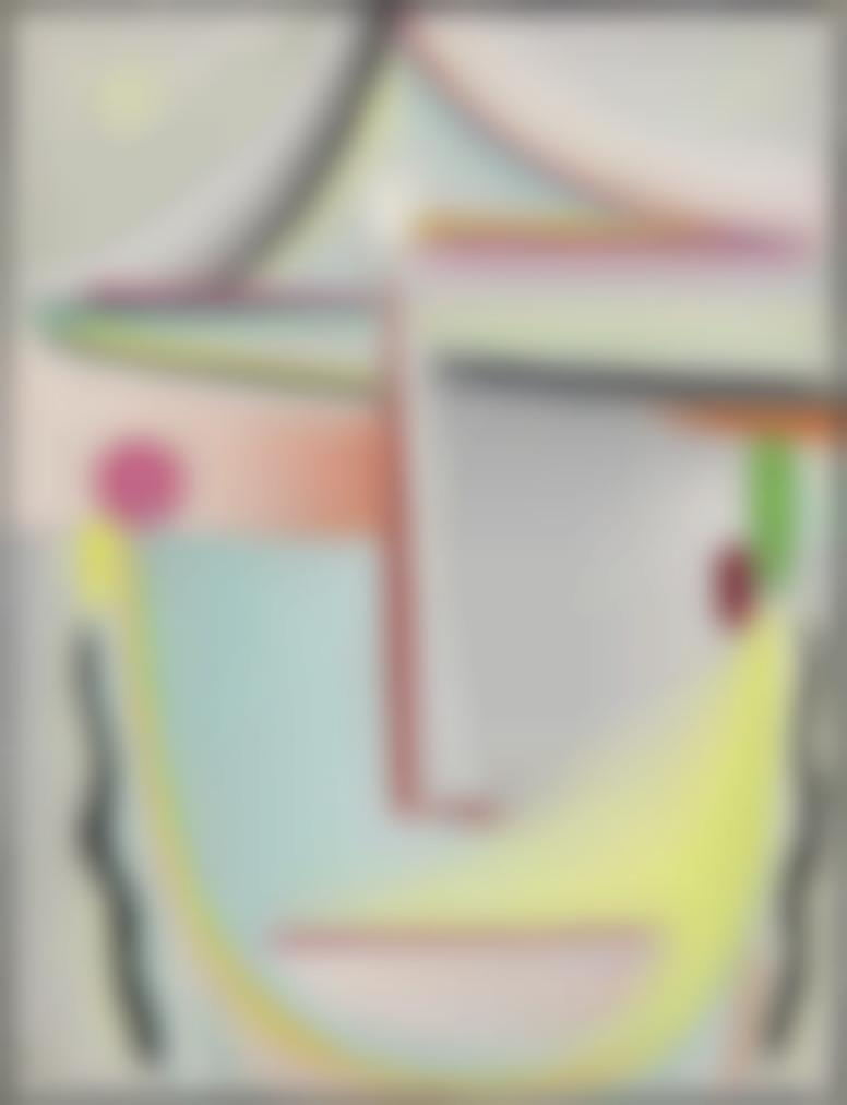 Alexej von Jawlensky-Abstrakter Kopf: Stilles Leuchten-1920