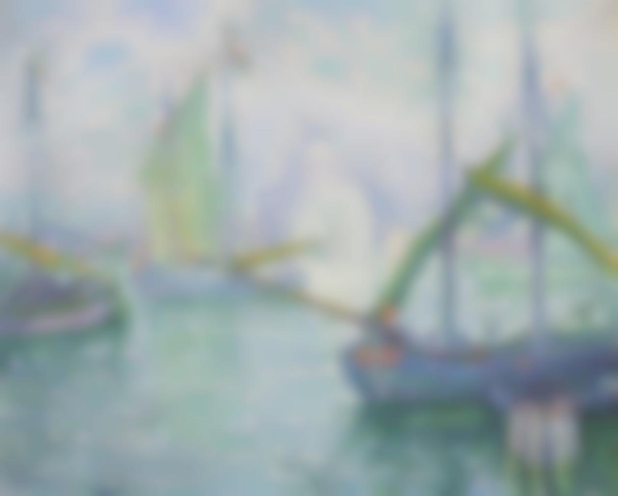 Paul Signac-Venise. Le Redempteur-1908