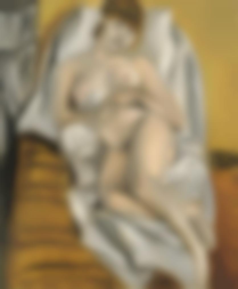 Henri Matisse-Femme Nue-1915
