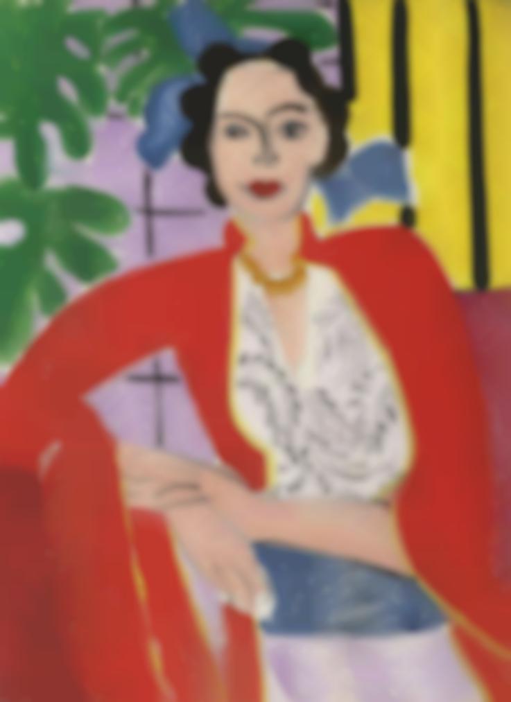 Henri Matisse-Le Collier Dambre-1937