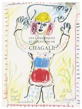 Marc Chagall-La Joie Du Berger Pour Ingrid Et Alfred-1972