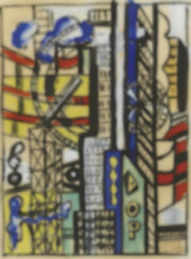 Fernand Leger-Souvenir De New York-1939