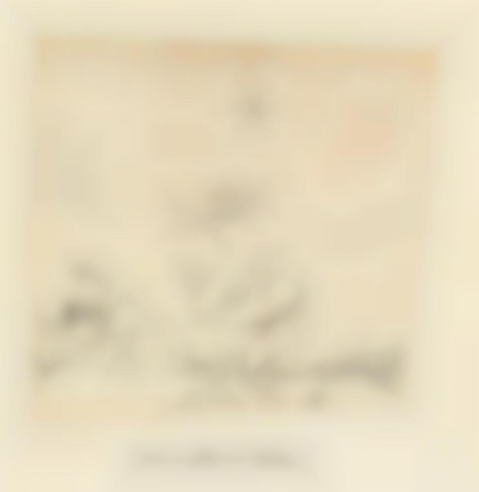 Paul Klee-Leda Und D. Schwan (Leda And The Swan)-1913