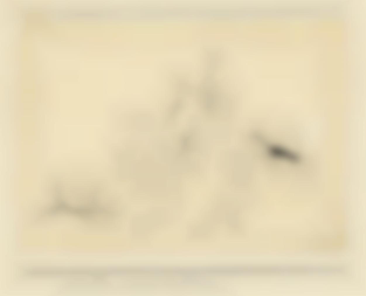 Paul Klee-Angreifende Pflanzen (Attacking Plants)-1926