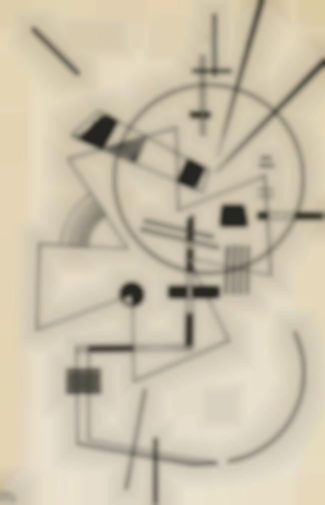 Wassily Kandinsky-Zeichnung Fur Lithographie No Ii-1925