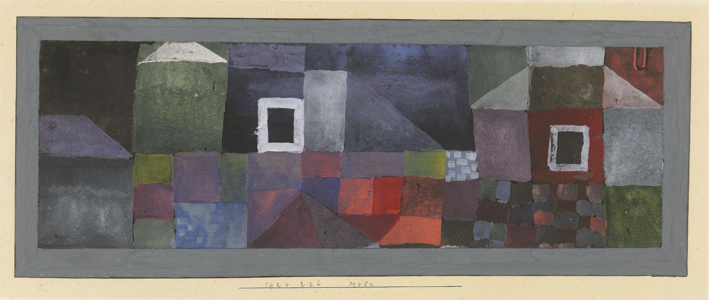 Paul Klee-Mola-1924