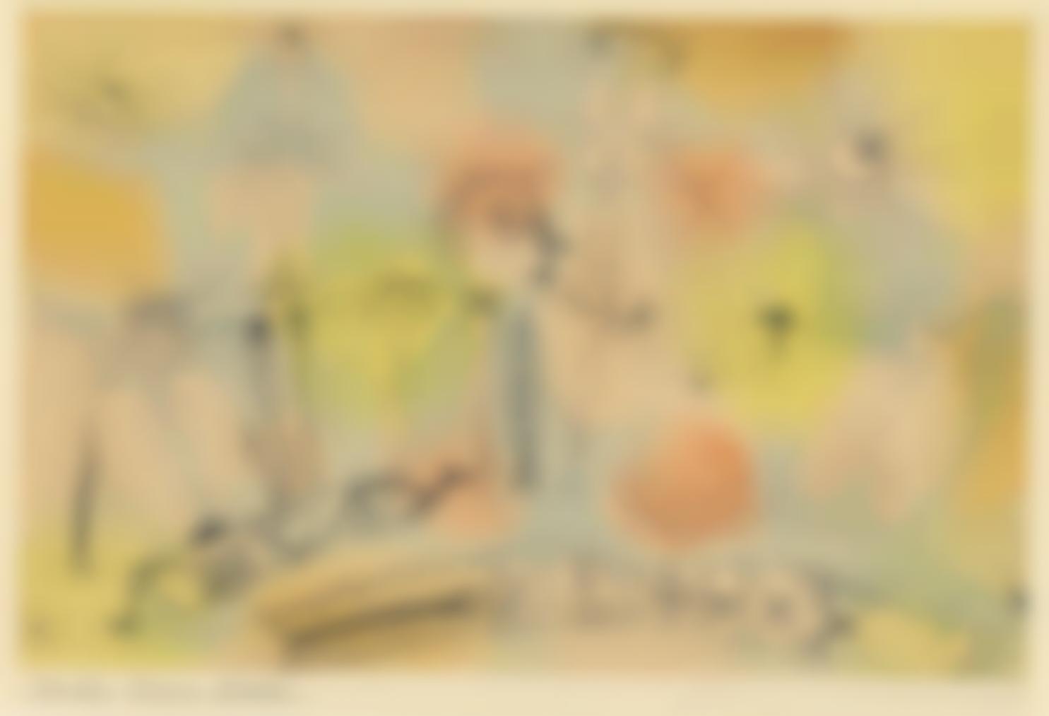 Paul Klee-Drama Aktschluss (Drama, End Of Act)-1920