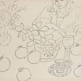 Henri Matisse-Scene Dinterieur-1944