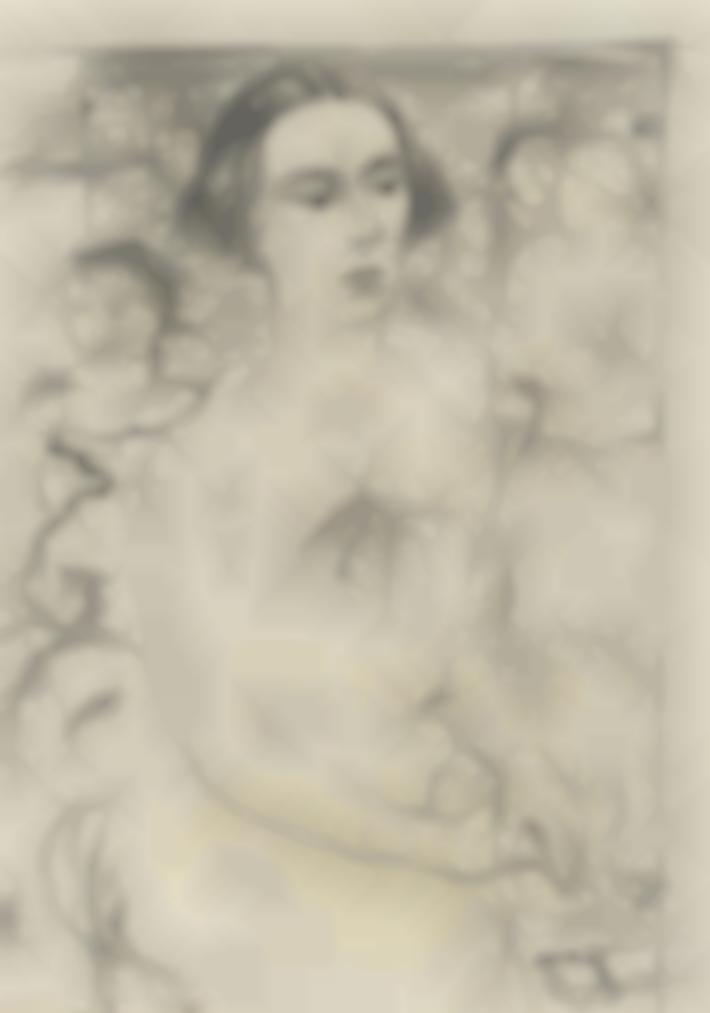 Paul Delvaux-Portrait De Tam-1930