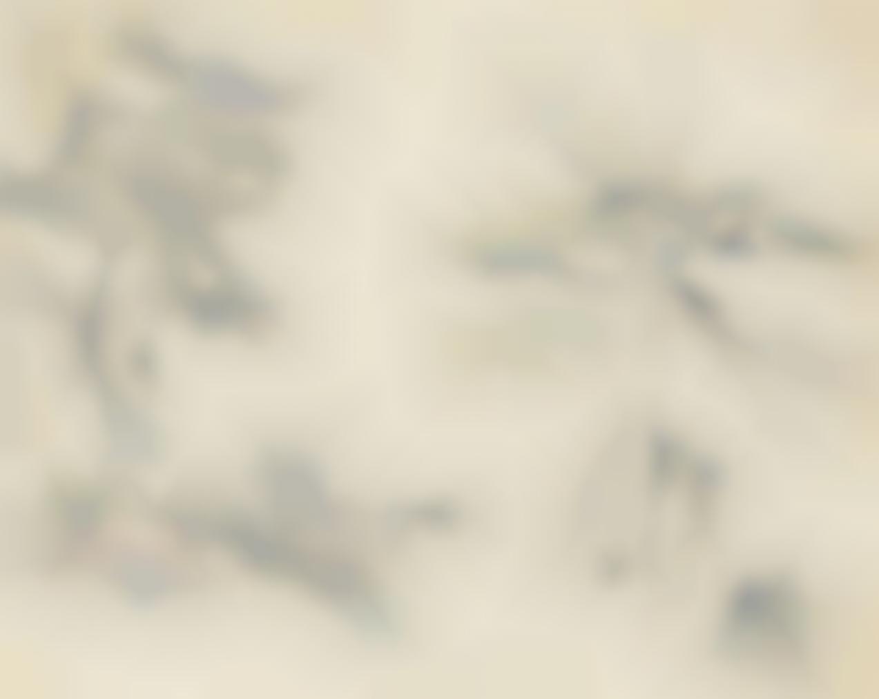 Paul Cezanne-Deux Arbres-1890