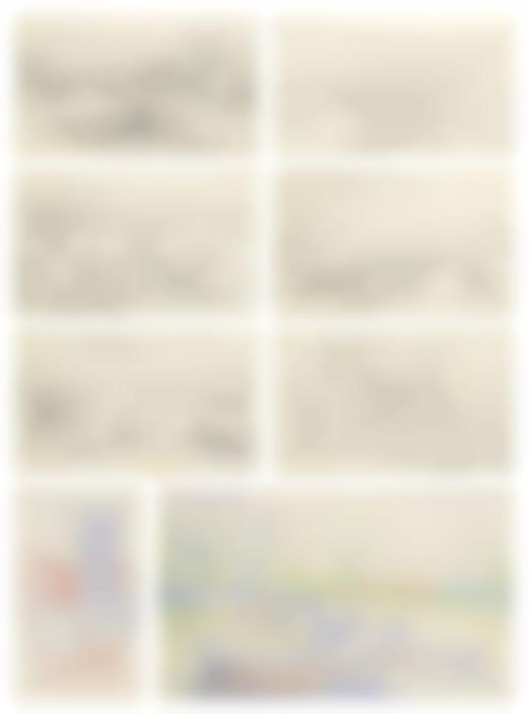 Alfred Sisley-Sketchbook Containing 22 Drawings-1885