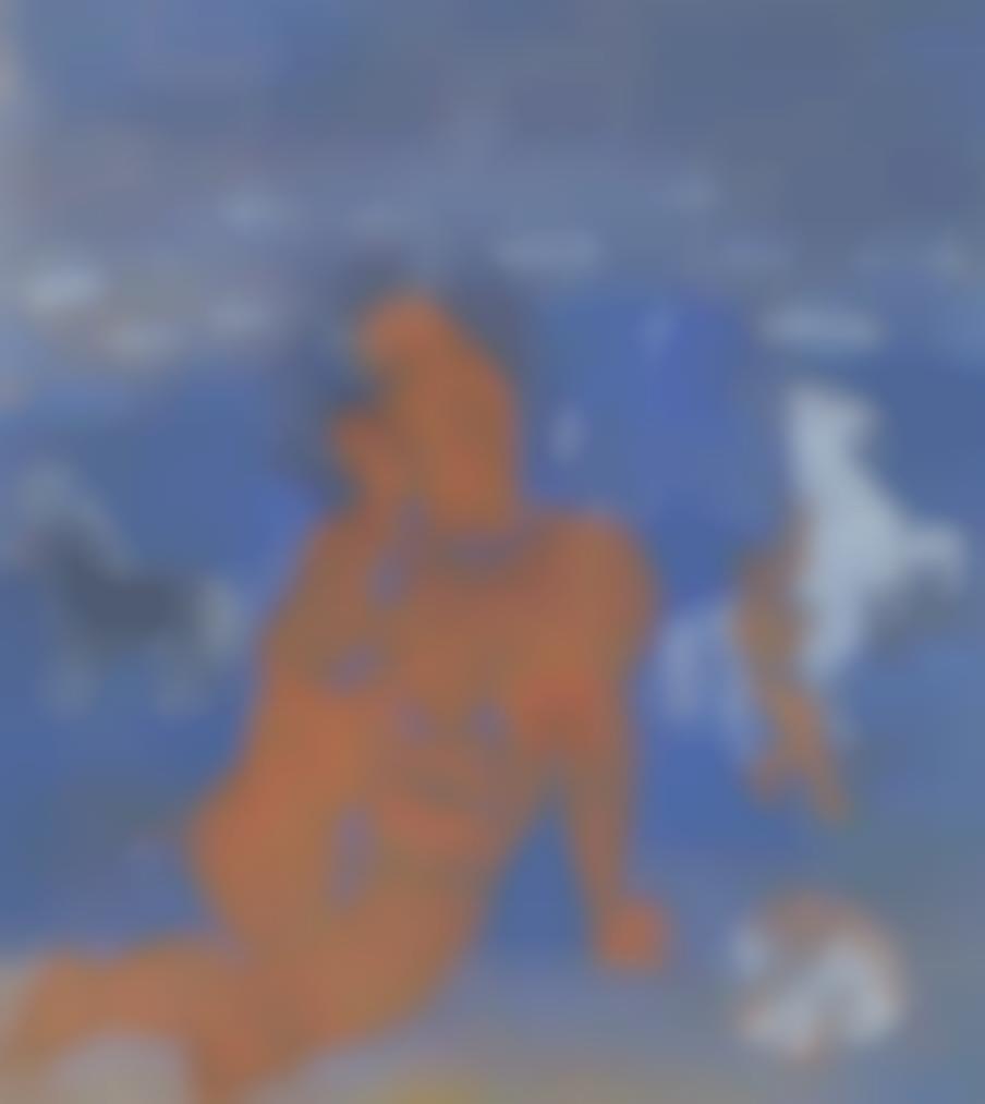 Raoul Dufy-Amphitrite Et Chevaux Marins-1925
