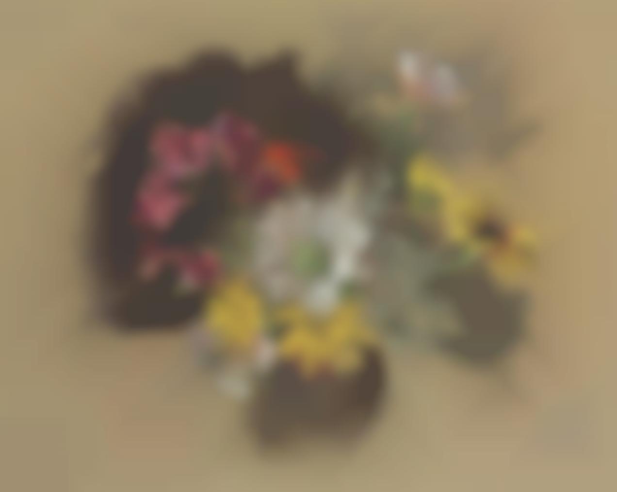 Edouard Vuillard-Bouquet Danemones-1920
