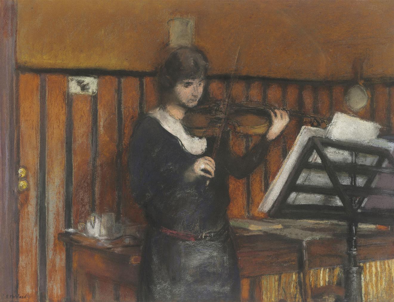 Edouard Vuillard-Madame Fried-1924