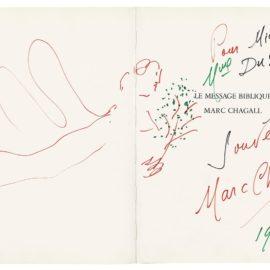 Marc Chagall-Ange Pour Michel Et Mme Dusoulier-1974