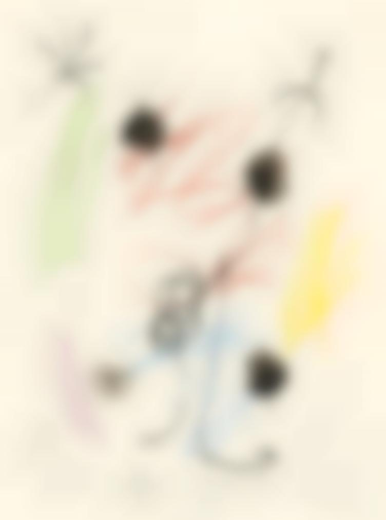 Joan Miro-Composition-1964