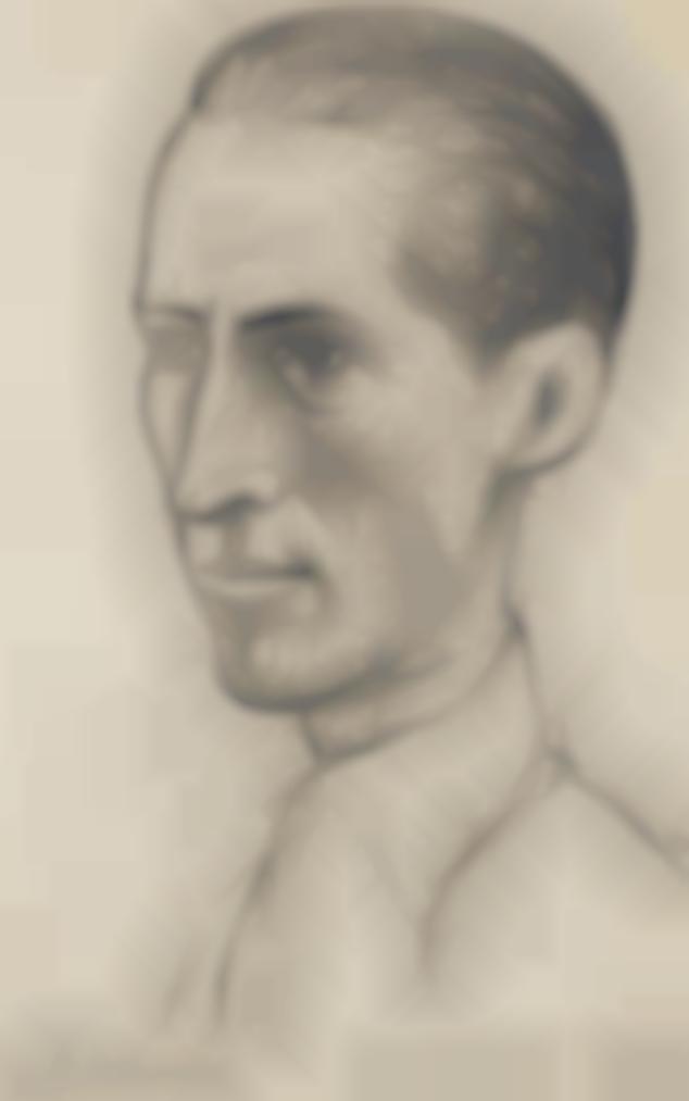 Pablo Picasso-Portrait De Martin Fabiani (Ii)-1943
